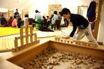 kostkoviště a dřevěné hračky