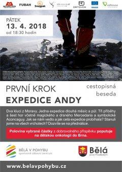 První krok - Expedice Andy