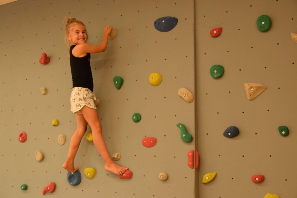 Svět sportu - lezecká stěna
