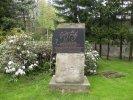 Bělá pod Pradědem - pomník čarodějnickým obětem
